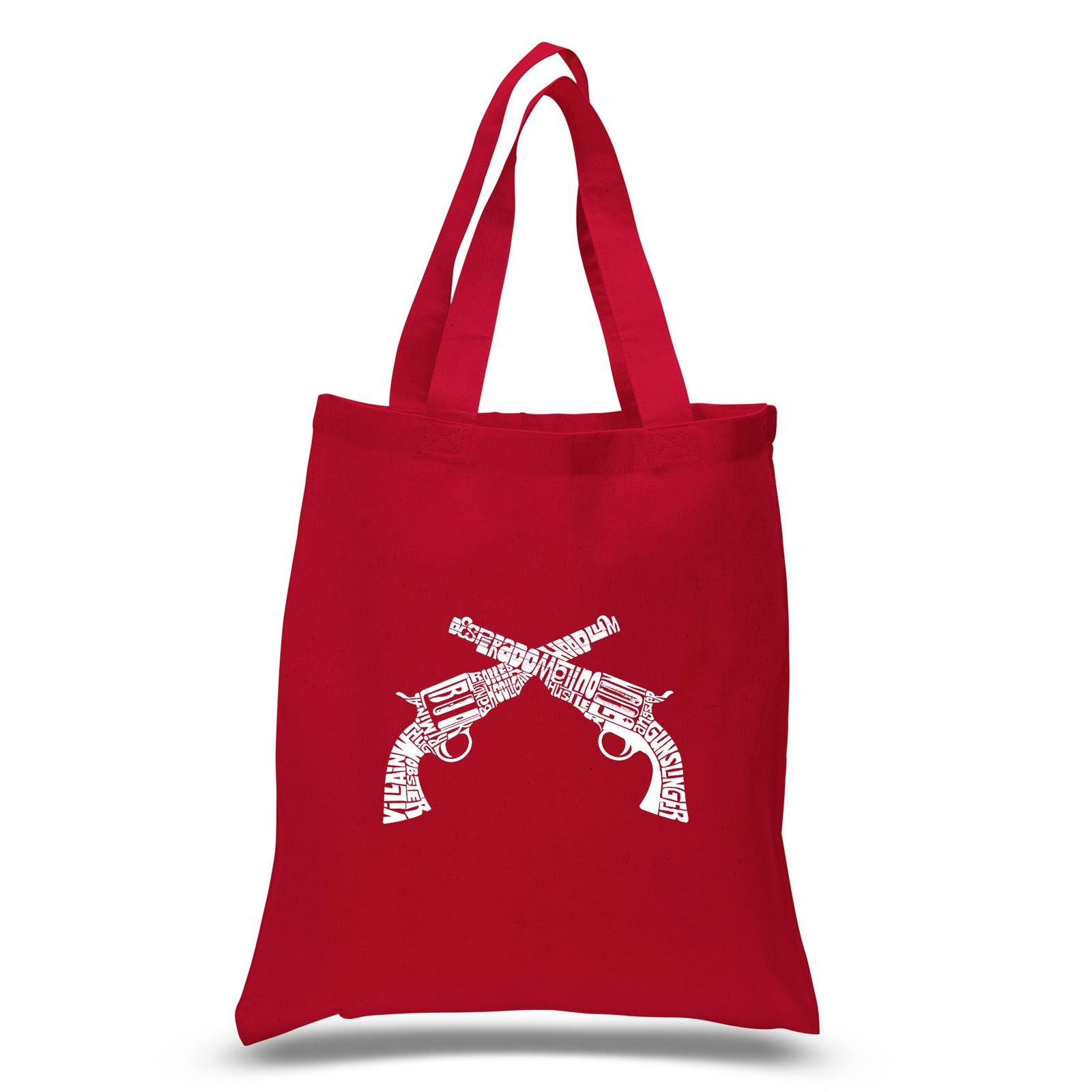 Small Tote Bag - CROSSED PISTOLS
