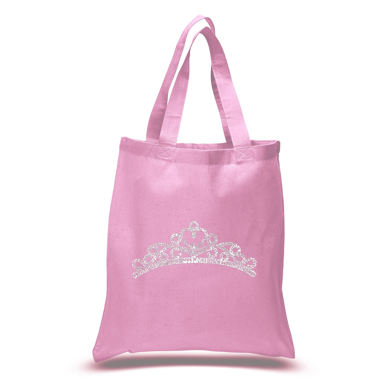 Los Angeles Pop Art Small Tote Bag - Princess Tiara