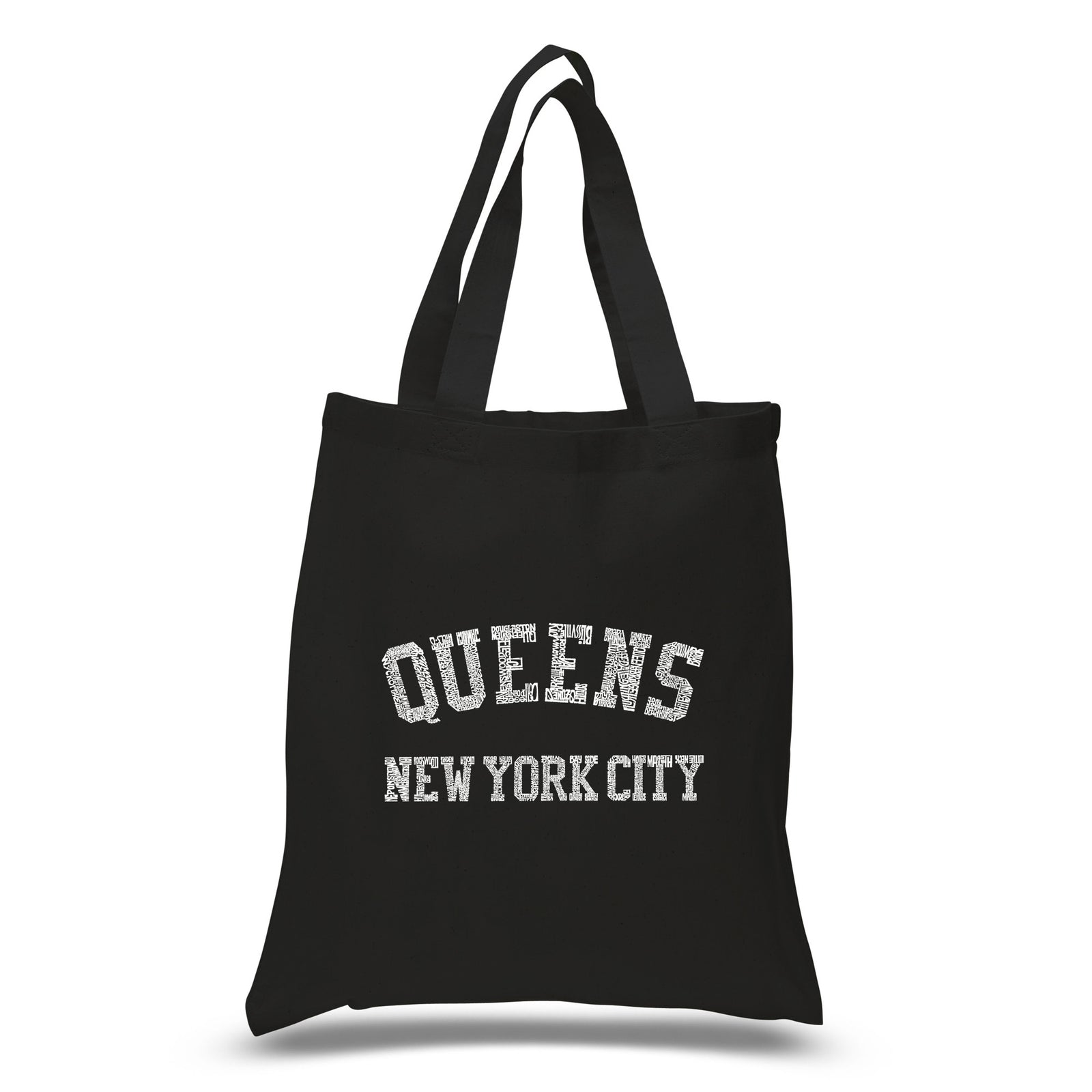 Small Tote Bag - POPULAR NEIGHBORHOODS IN QUEENS, NY