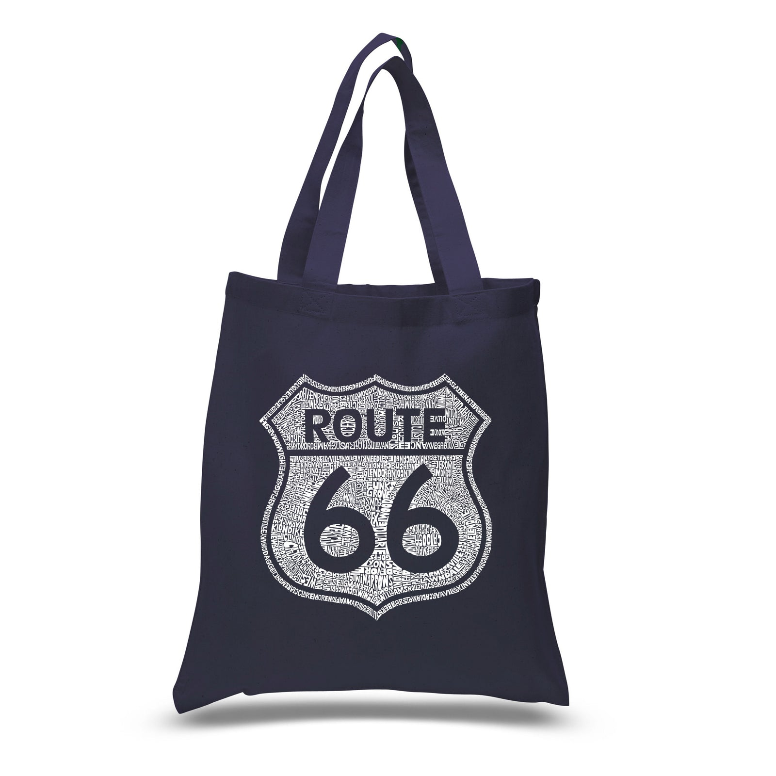 Small Tote Bag - CITIES ALONG THE LEGENDARY ROUTE 66