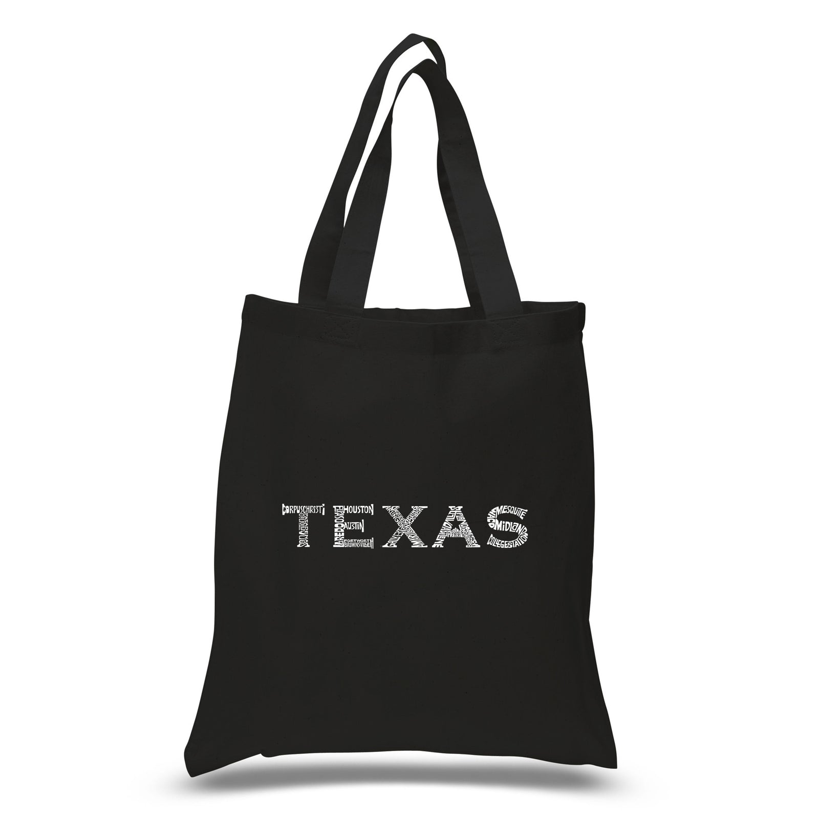 Small Tote Bag - THE GREAT CITIES OF TEXAS