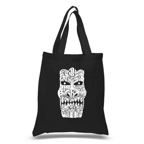 Small Tote Bag - TIKI - BIG KAHUNA