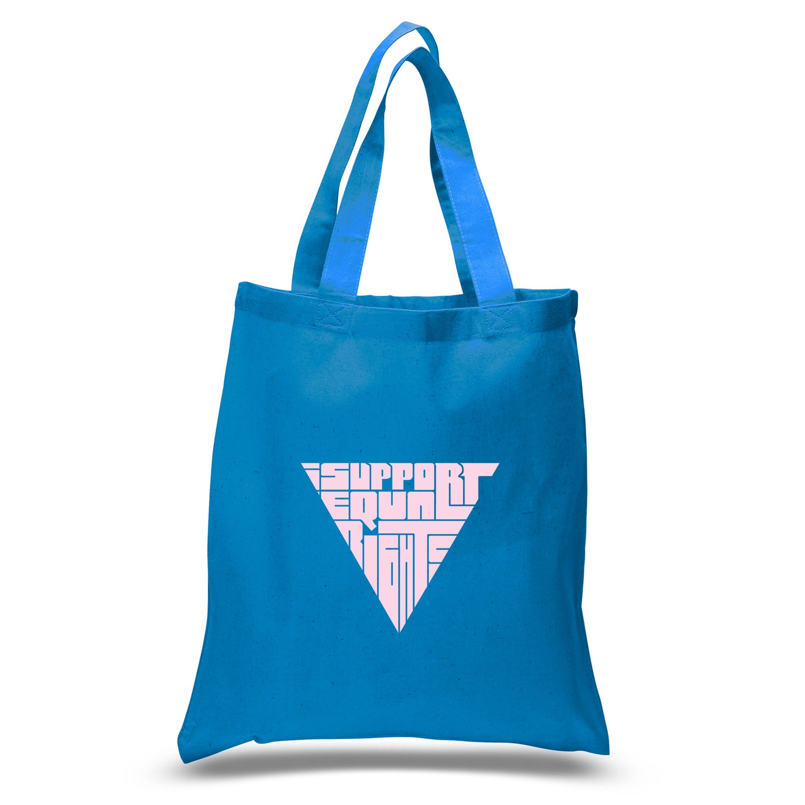 Small Tote Bag - I SUPPORT EQUAL RIGHTS
