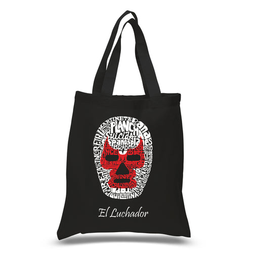 Small Tote Bag - MEXICAN WRESTLING MASK