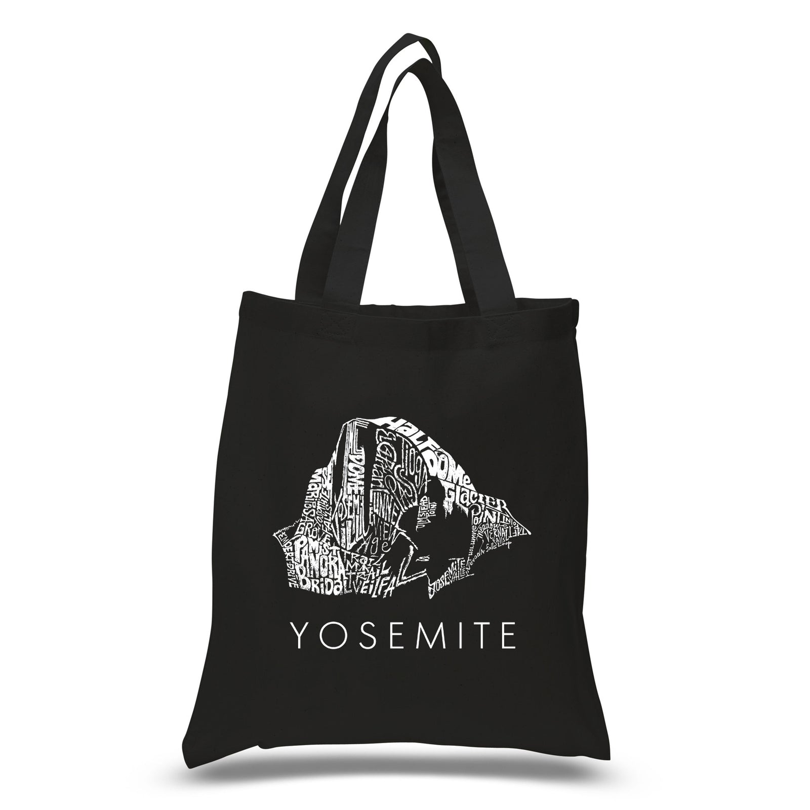 Los Angeles Pop Art Small Tote Bag - Yosemite