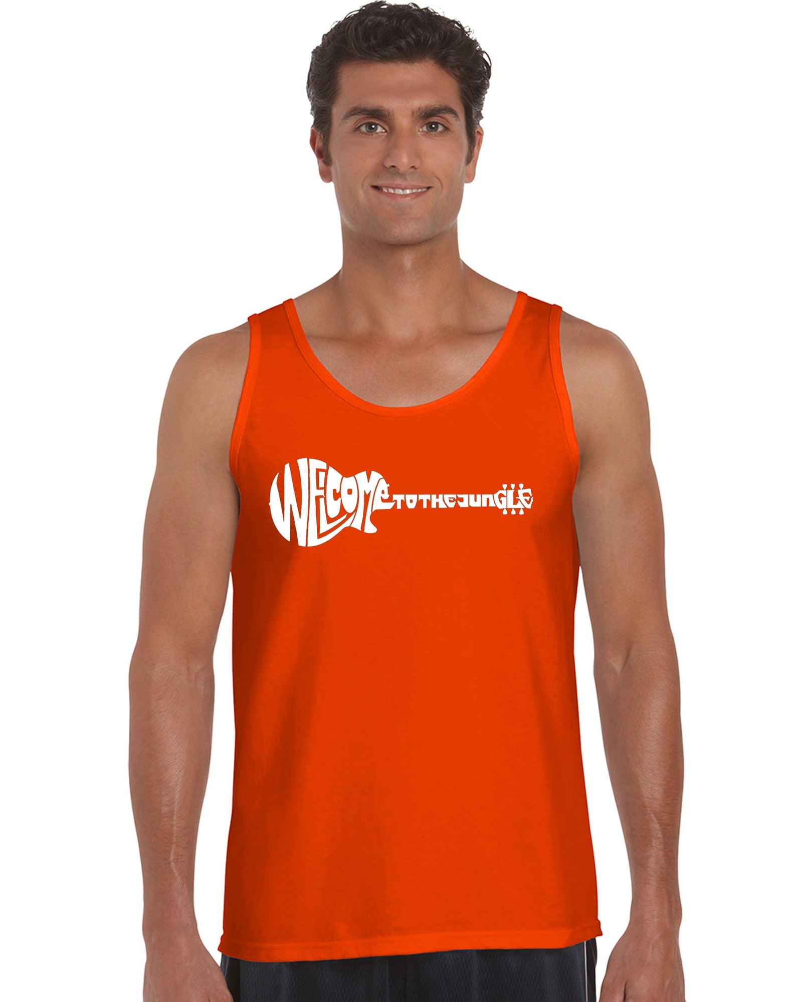 Mens Tank Top  - Welcome to the Jungle