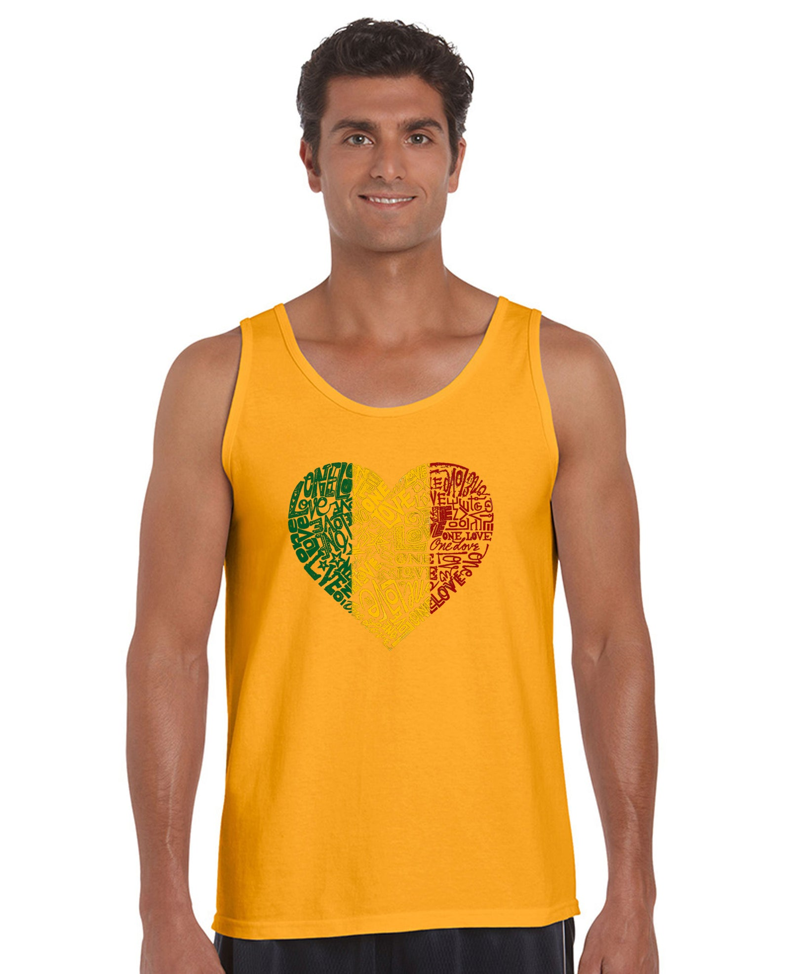 Mens Tank Top  - One Love