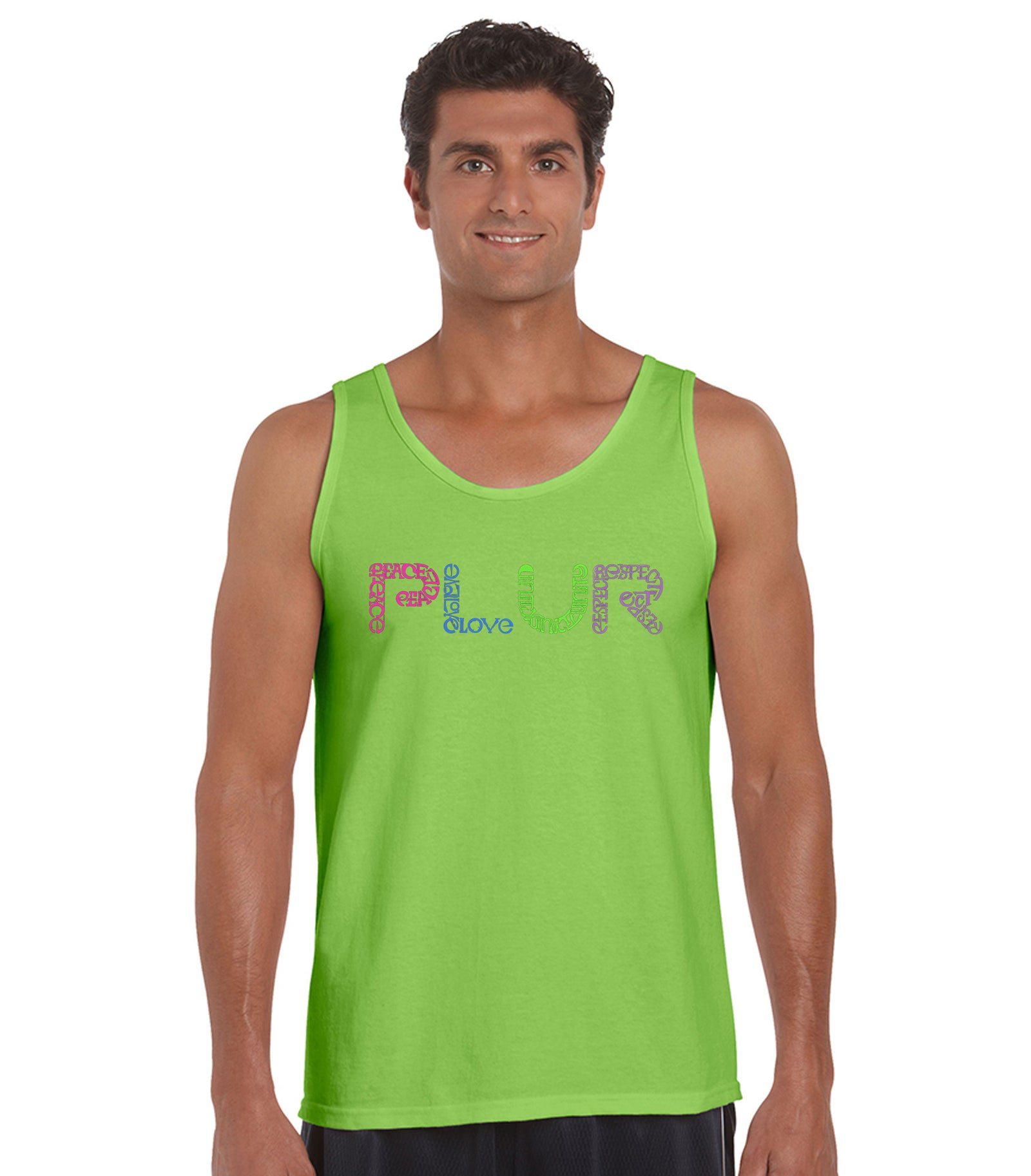 Mens Tank Top - PLUR