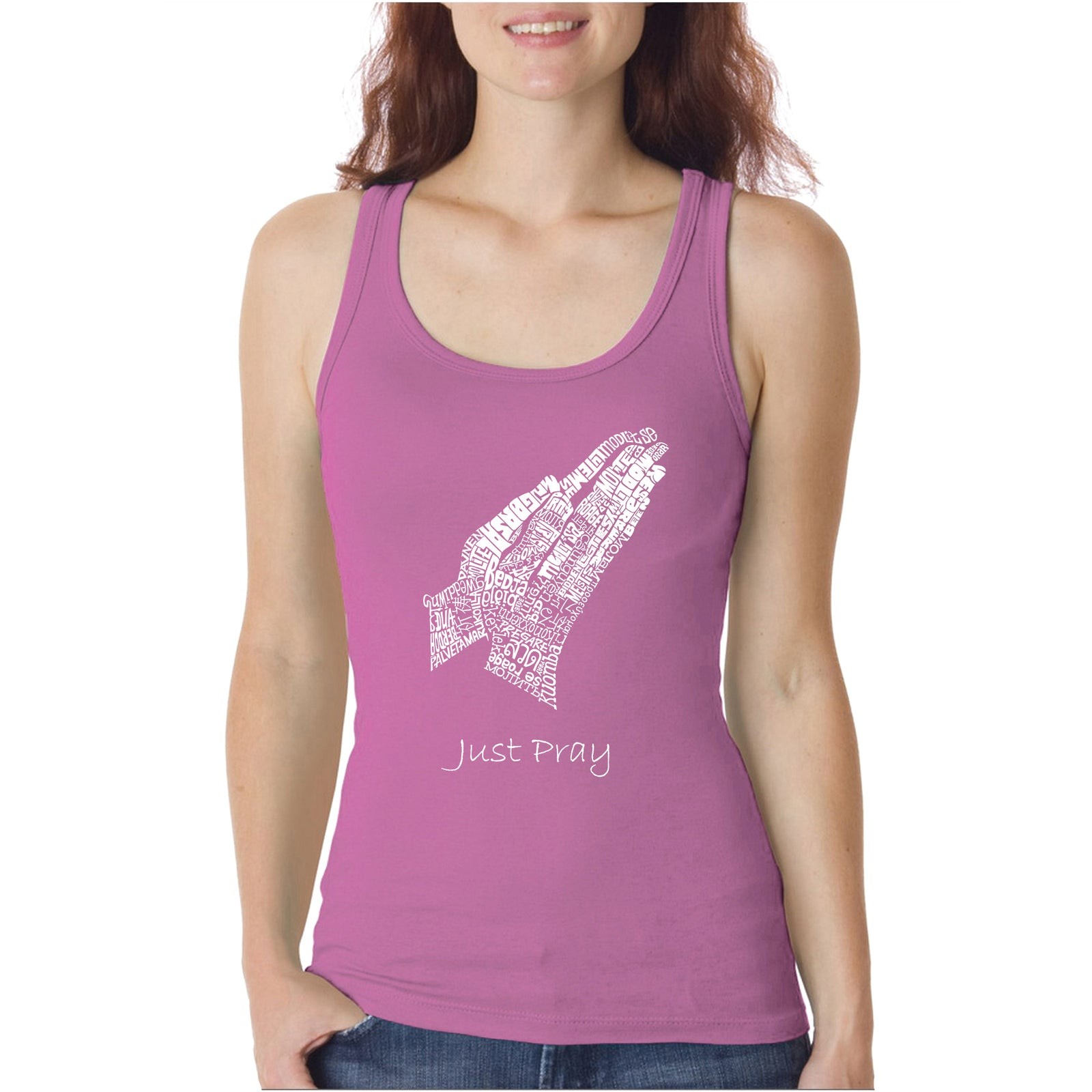 Women's Tank Top - Prayer Hands