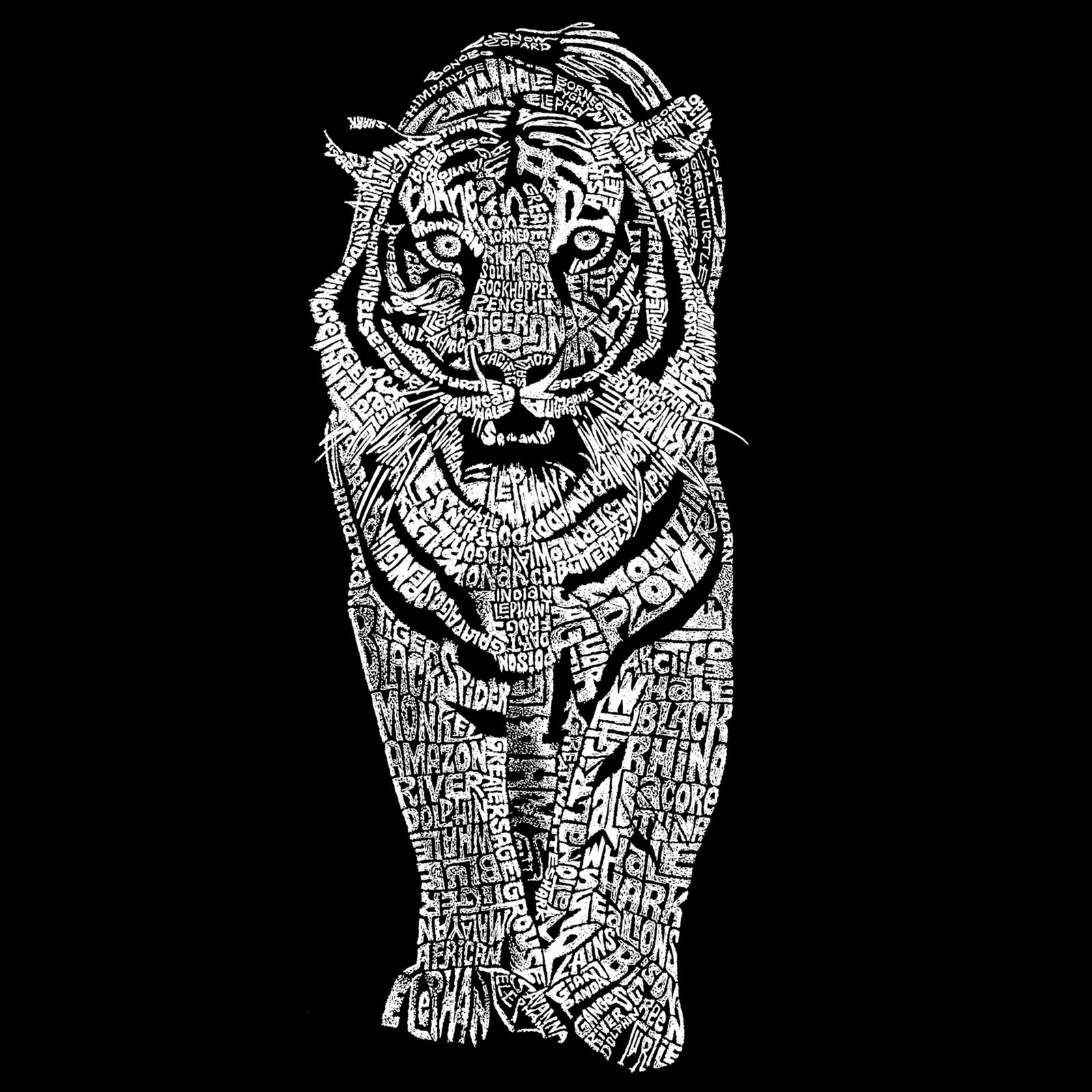 Men's Sleeveless T-shirt - TIGER
