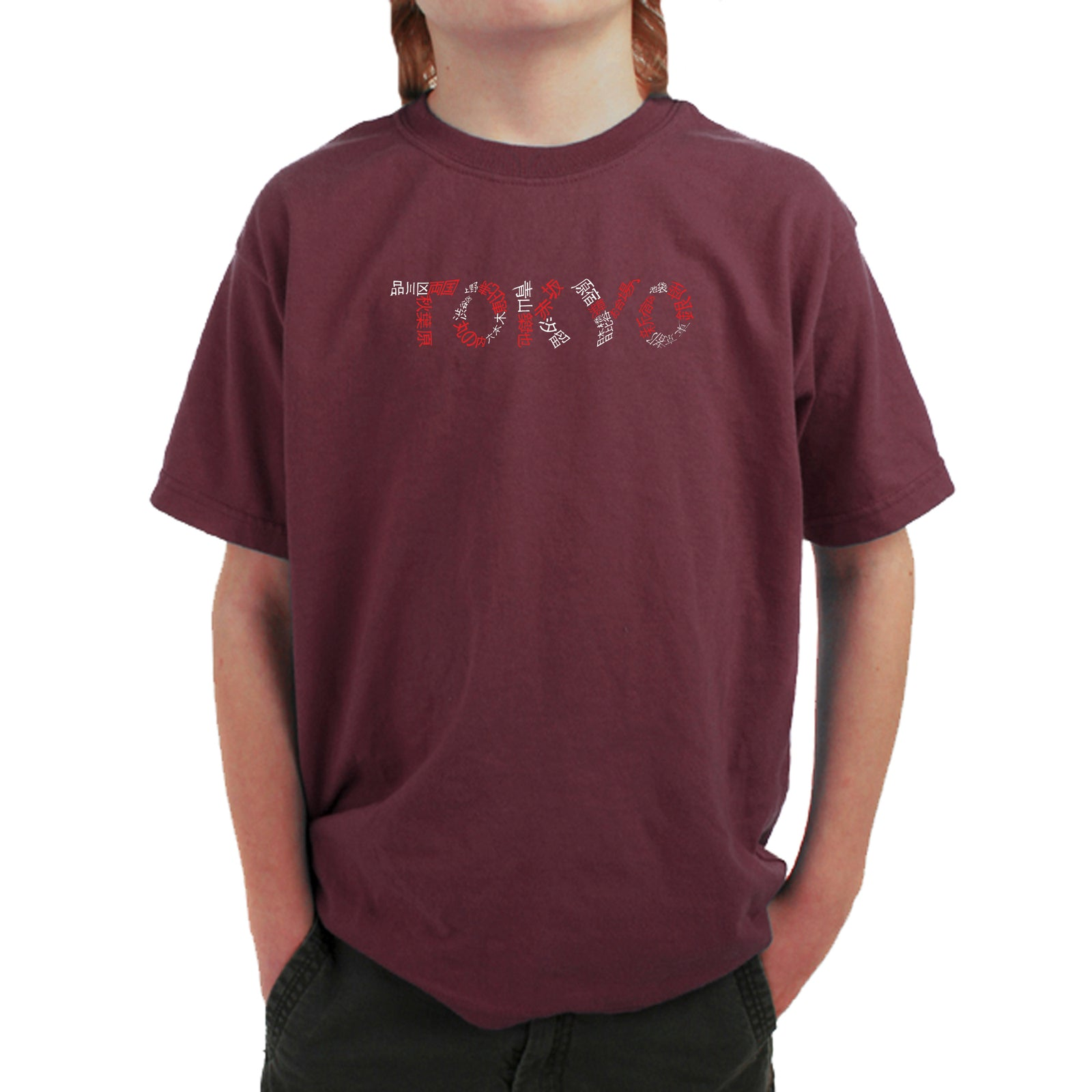 Boy's T-shirt - THE NEIGHBORHOODS OF TOKYO
