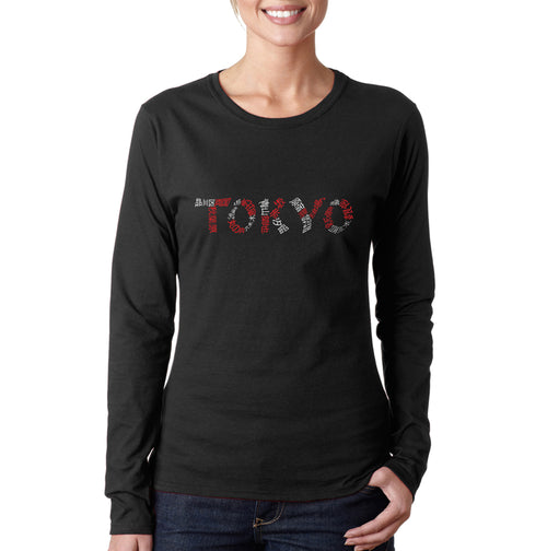Women's Long Sleeve T-Shirt - THE NEIGHBORHOODS OF TOKYO