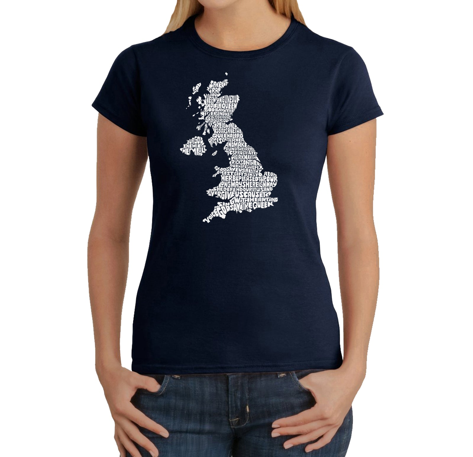 Women's T-Shirt - GOD SAVE THE QUEEN