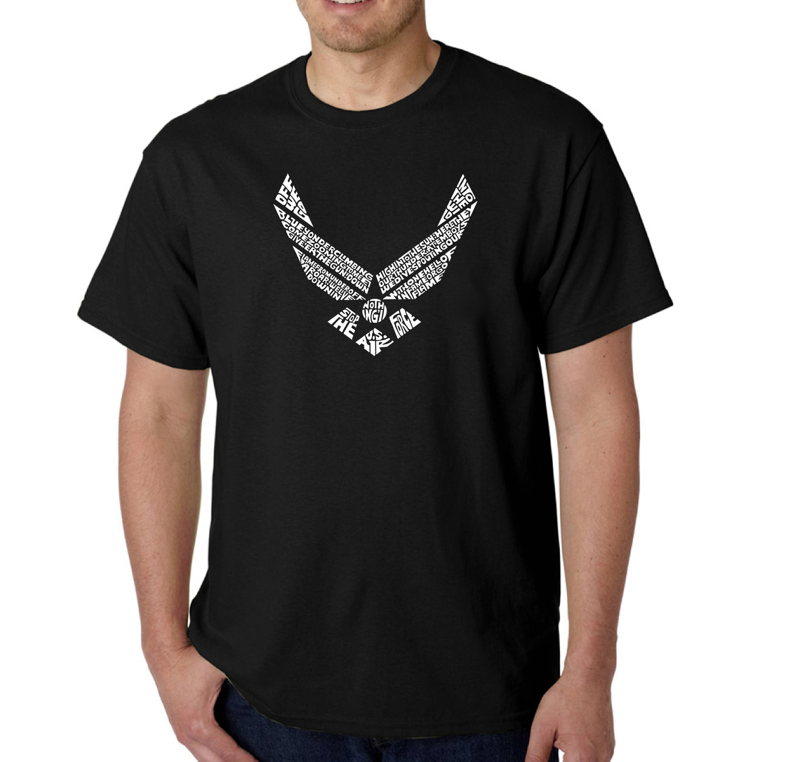 Men's T-shirt - LYRICS TO THE AIR FORCE SONG