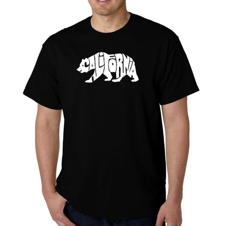 LA Pop Art Men's Word Art T-shirt - Ms Ribbon