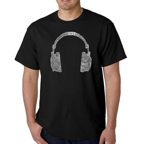 LA Pop Art Men's Word Art T-shirt - Neighborhoods in NYC