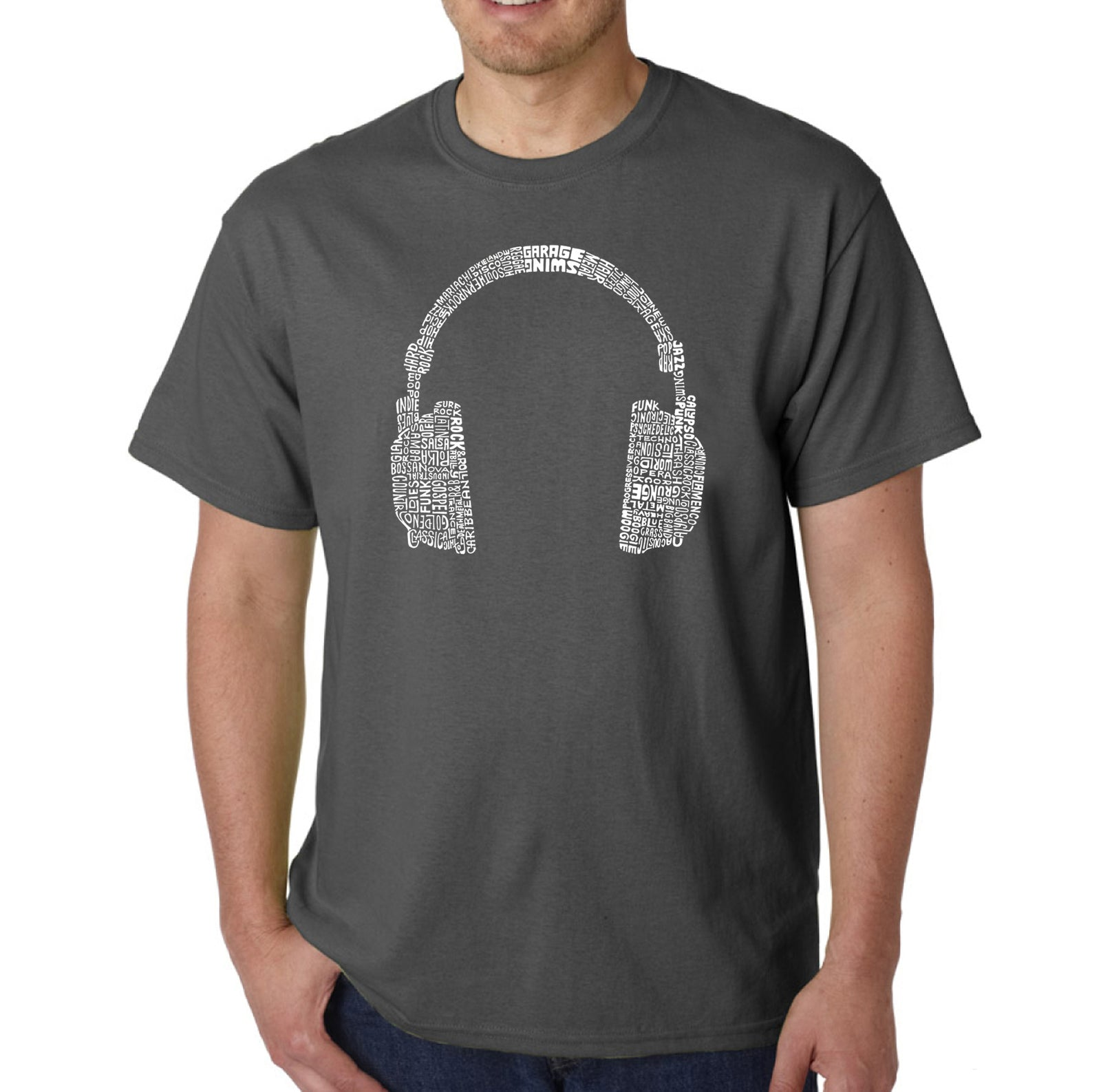 Men's T-shirt - 63 DIFFERENT GENRES OF MUSIC