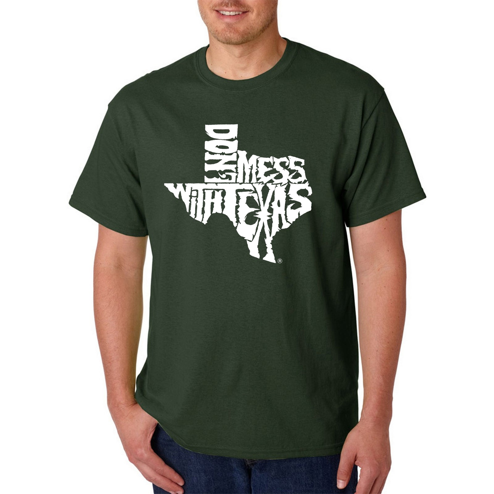 Men's T-shirt - DONT MESS WITH TEXAS