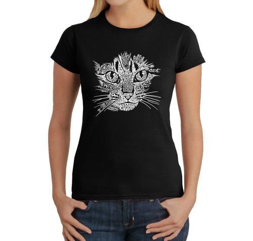 Women's T-Shirt - Cat Face