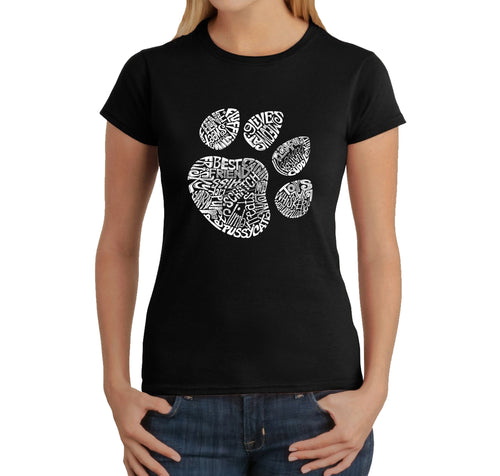 Women's T-Shirt - Cat Paw