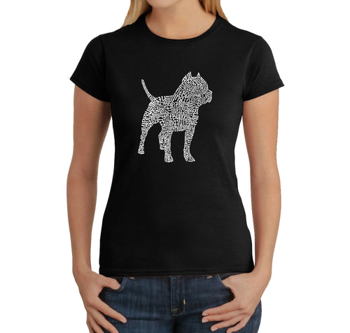 Women's T-Shirt - Pitbull