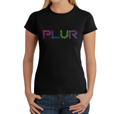 Women's T-Shirt - PLUR