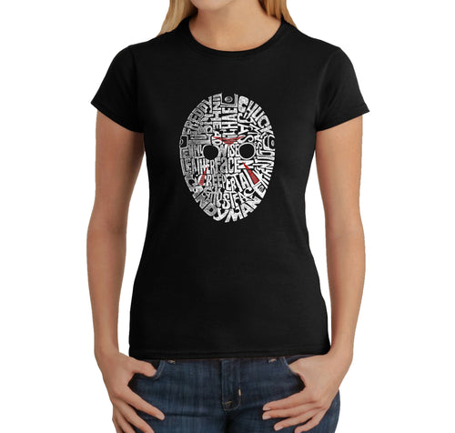 Women's T-Shirt - Slasher Movie Villians