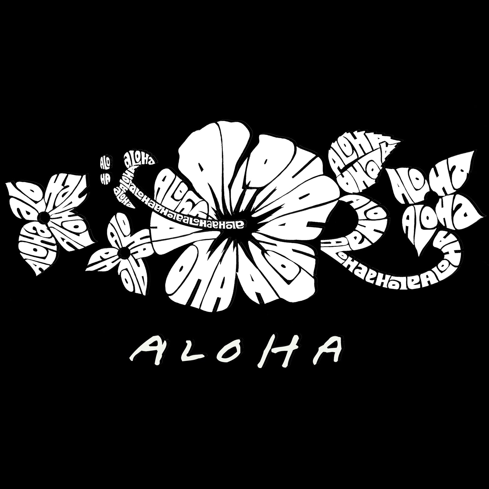 Drawstring Backpack - ALOHA
