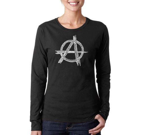 Women's Long Sleeve T-Shirt - GREAT ALL TIME PUNK SONGS
