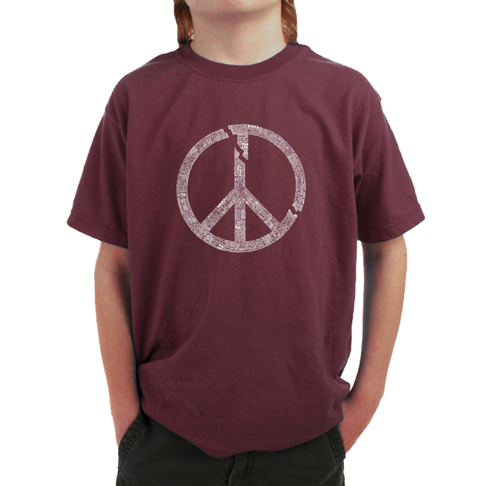 Boy's T-shirt - EVERY MAJOR WORLD CONFLICT SINCE 1770