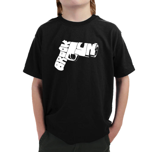 Boy's T-shirt - BROOKLYN GUN