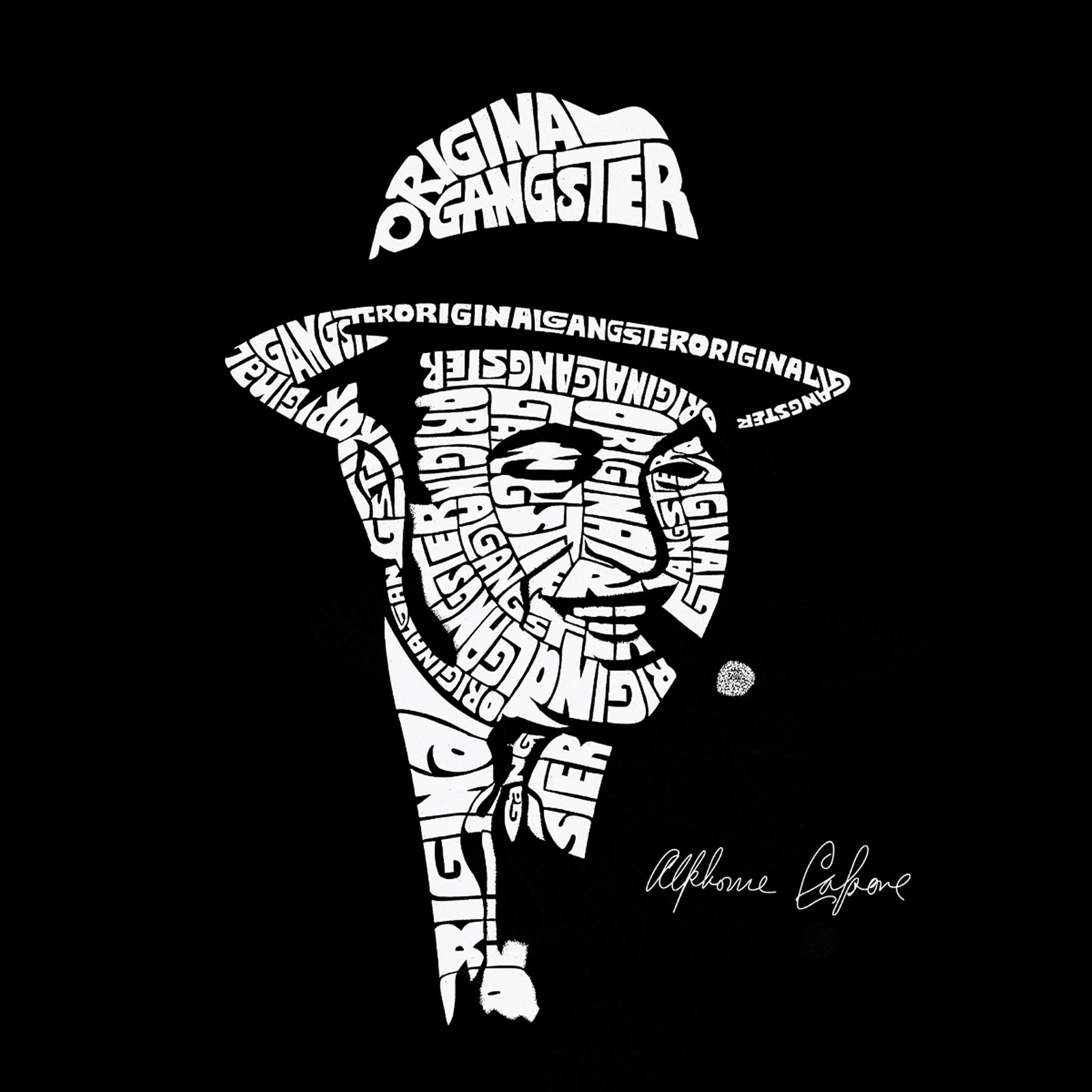 Small Tote Bag - AL CAPONE-ORIGINAL GANGSTER