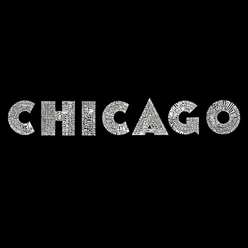 Mens Tank Top - Created using some of Chicago's most popular neighborhoods