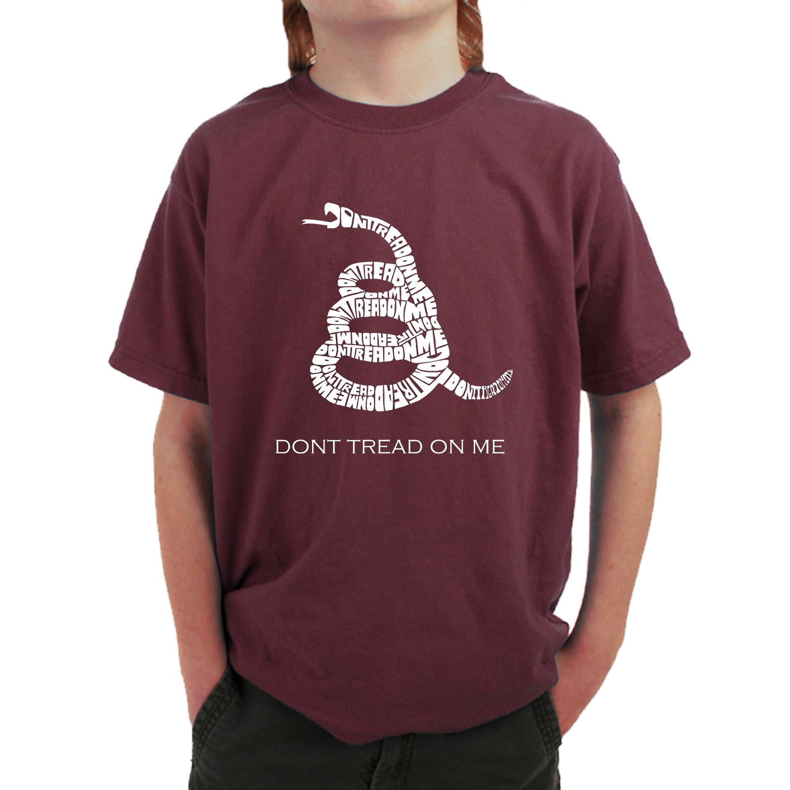 Boy's T-shirt - DONT TREAD ON ME