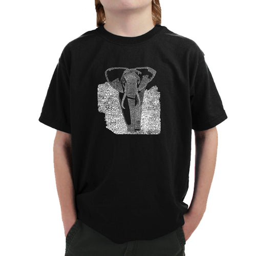 Boy's T-shirt - ELEPHANT