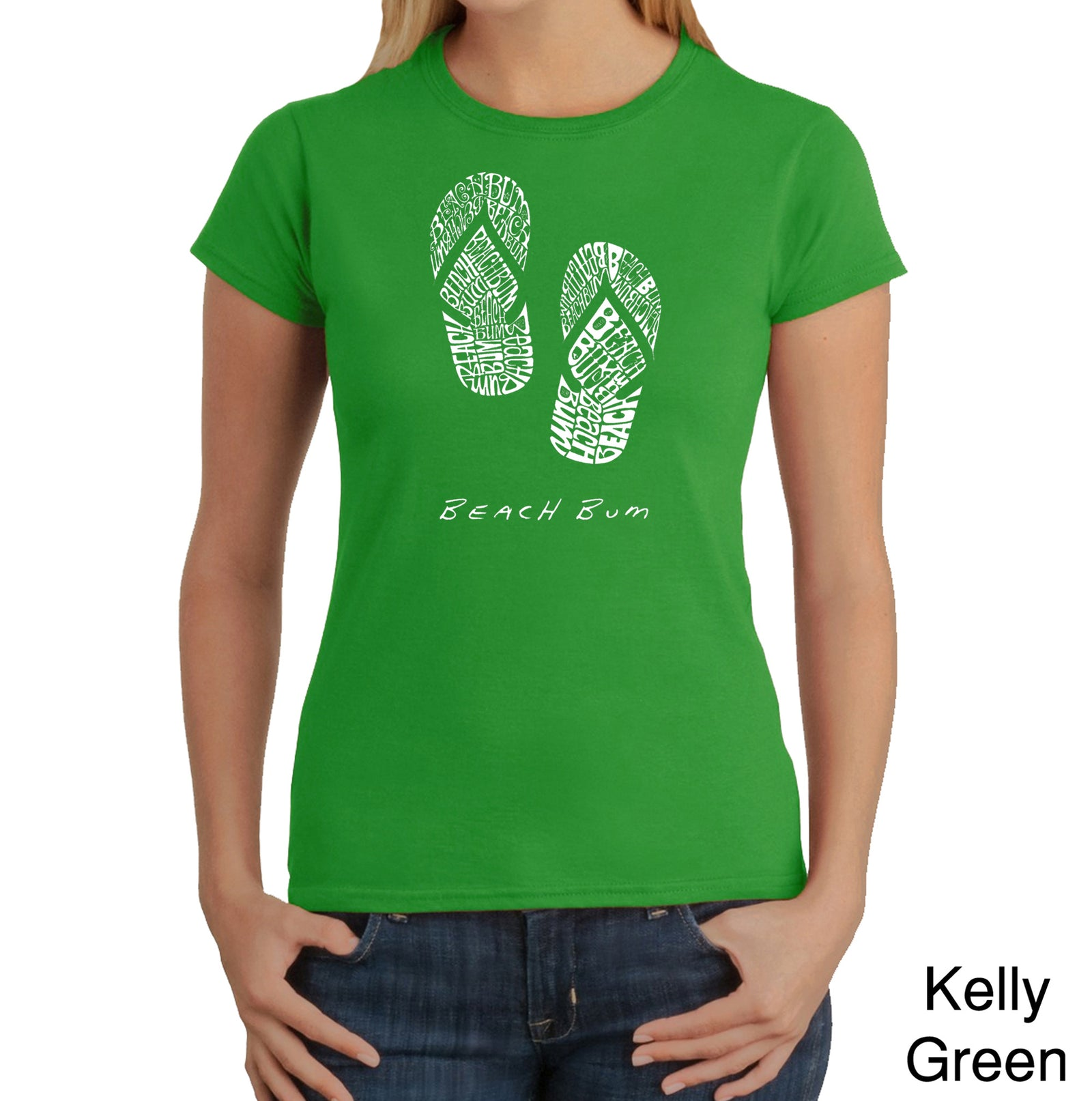 Women's T-Shirt - BEACH BUM