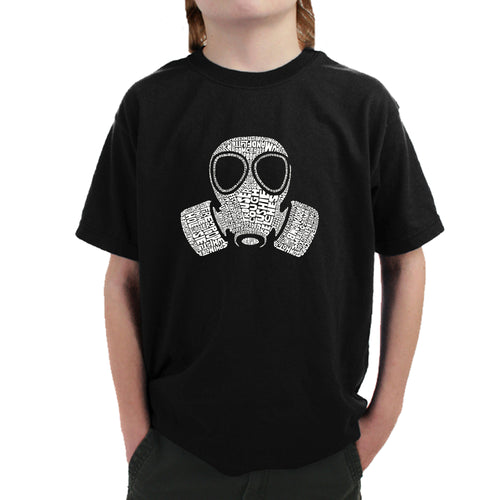 "Boy's T-shirt - SLANG TERM FOR ""FART"""