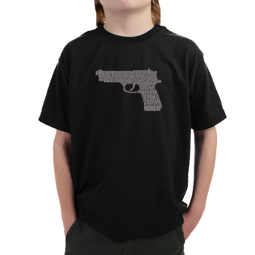 Boy's T-shirt - RIGHT TO BEAR ARMS
