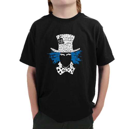 Boy's T-shirt - The Mad Hatter
