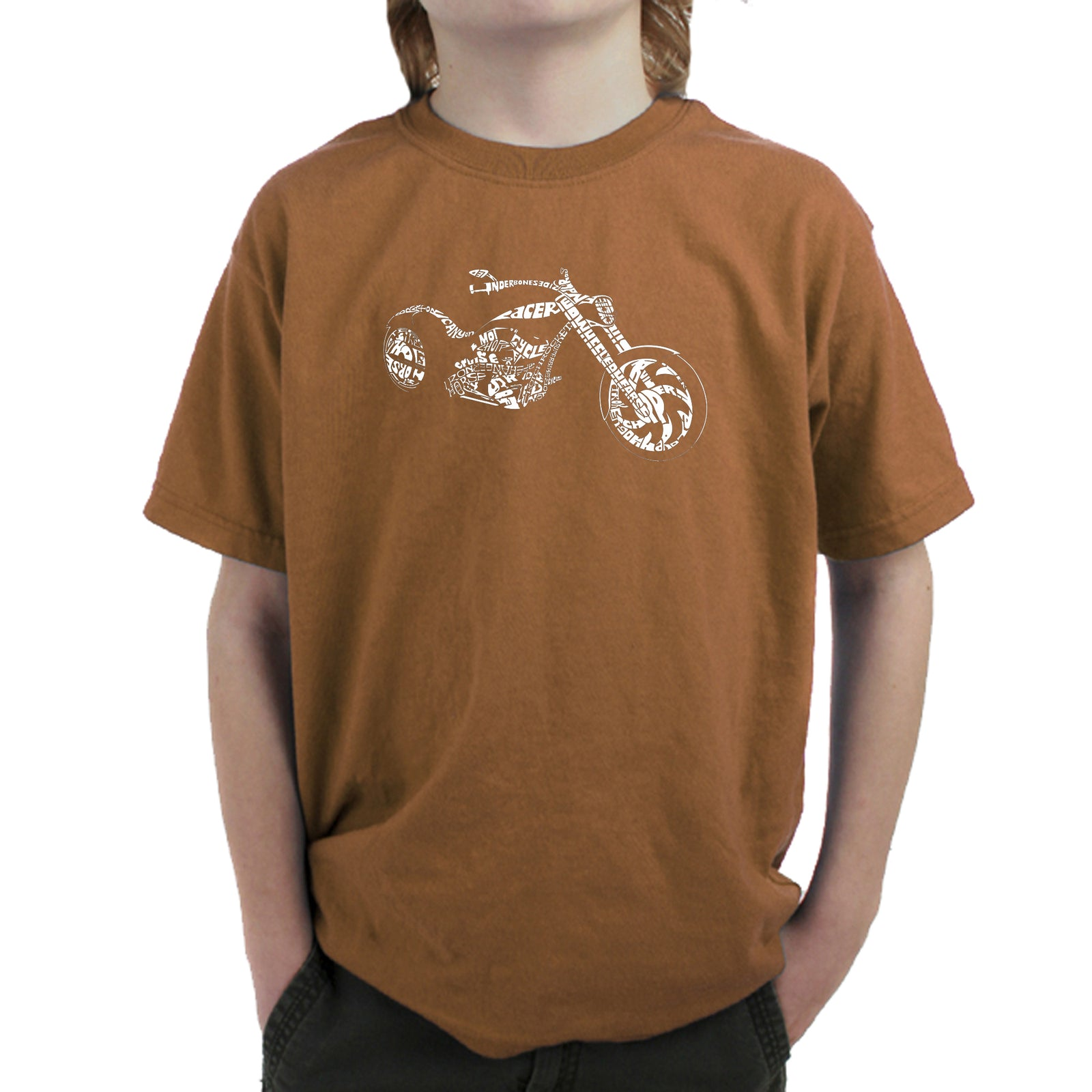 Boy's T-shirt - MOTORCYCLE