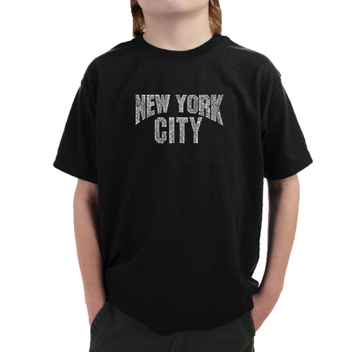 Boy's T-shirt - NYC NEIGHBORHOODS