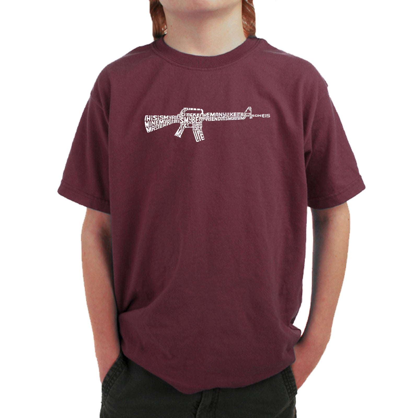 Boy's T-shirt - RIFLEMANS CREED