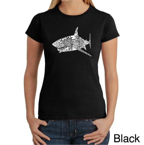 Women's T-Shirt - SPECIES OF SHARK