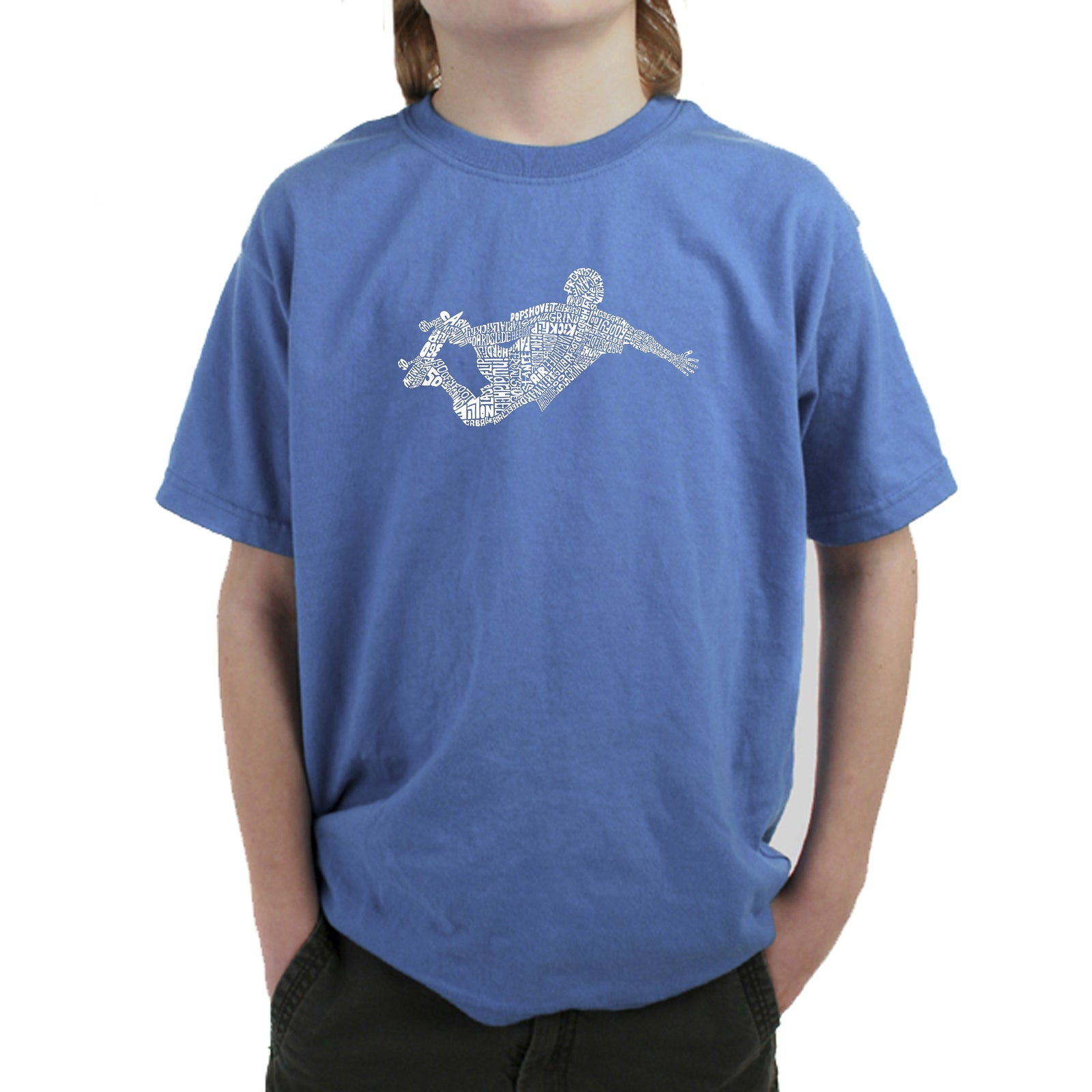 Boy's T-shirt - POPULAR SKATING MOVES & TRICKS