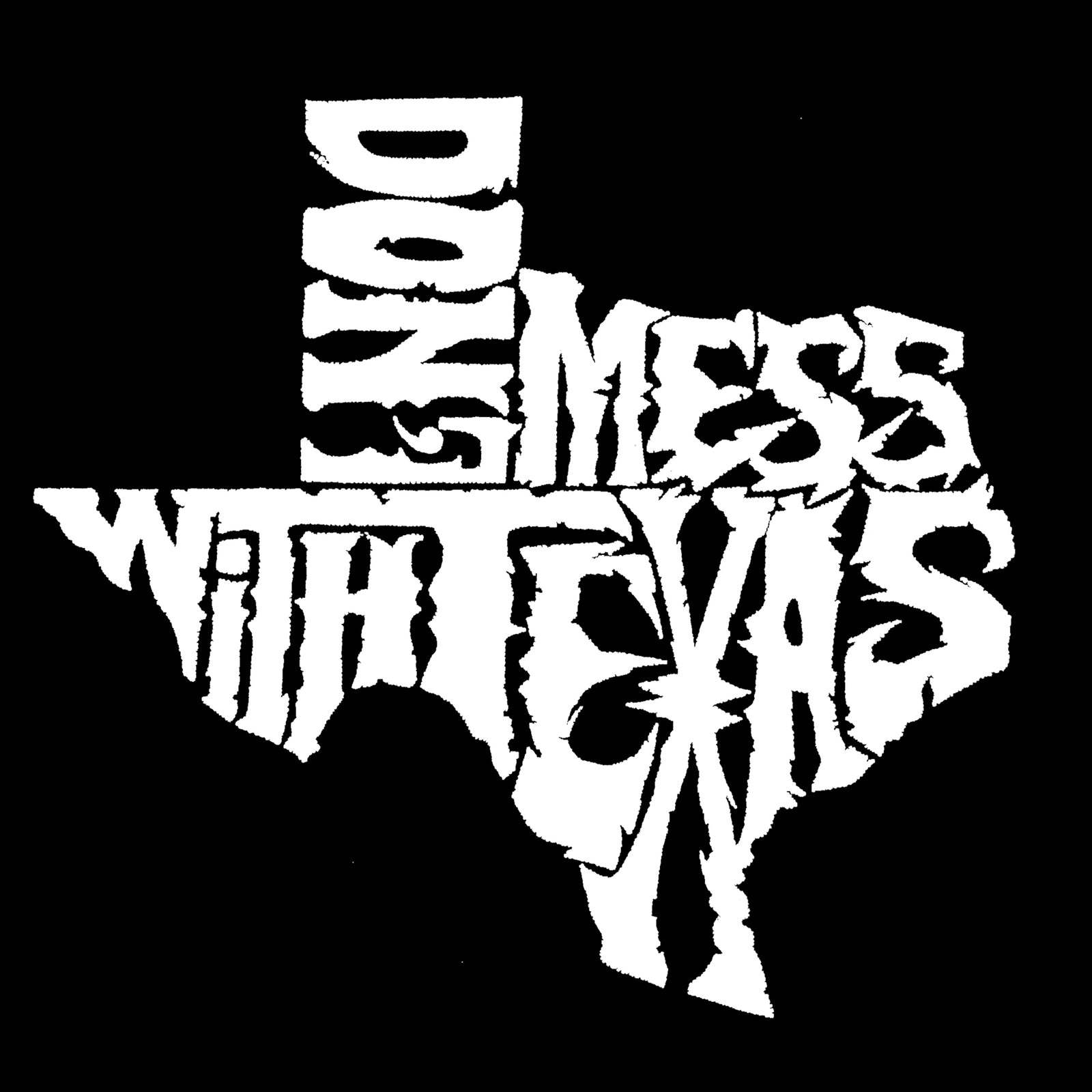 Women's Premium Word Art Flowy Tank Top - DONT MESS WITH TEXAS