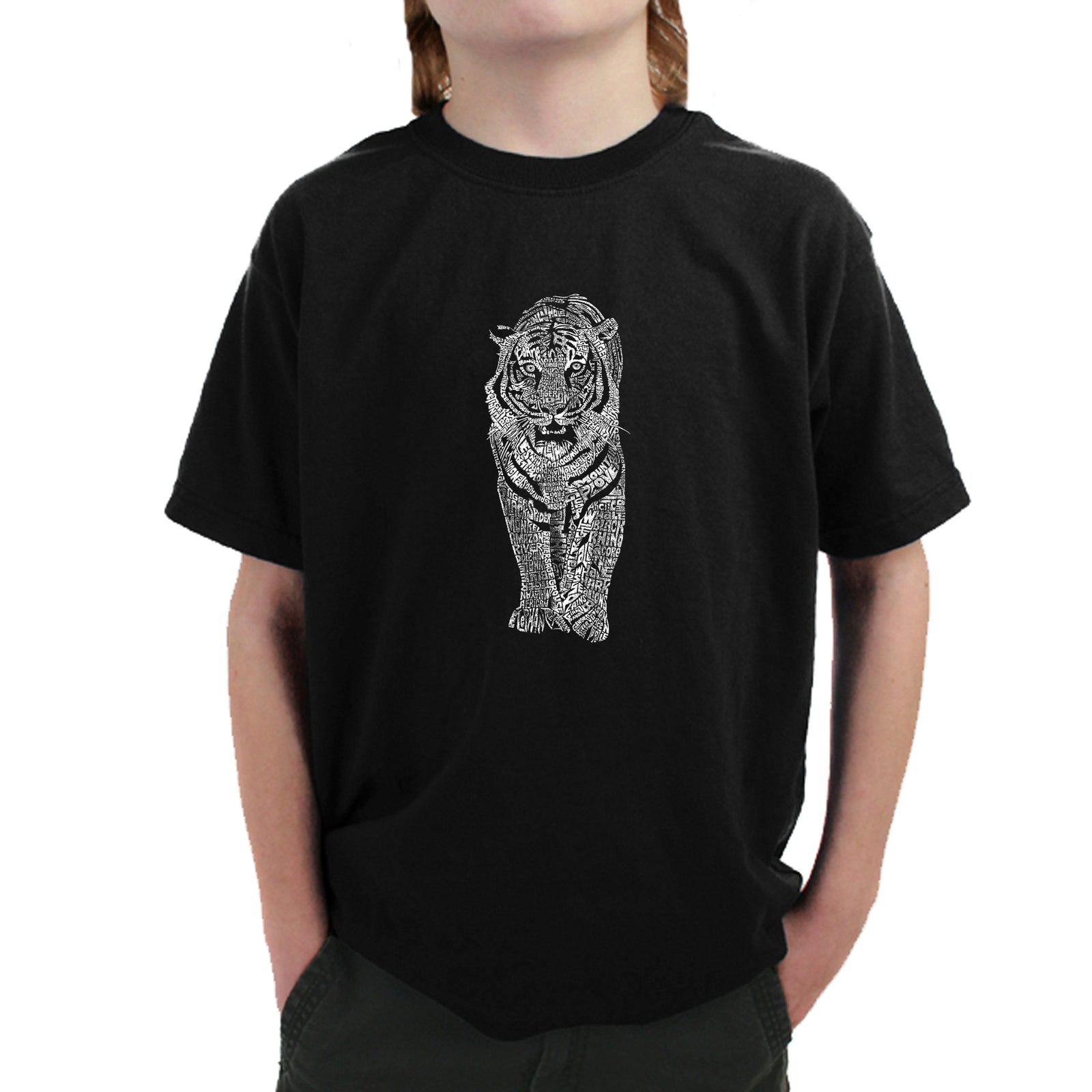Boy's T-shirt - TIGER