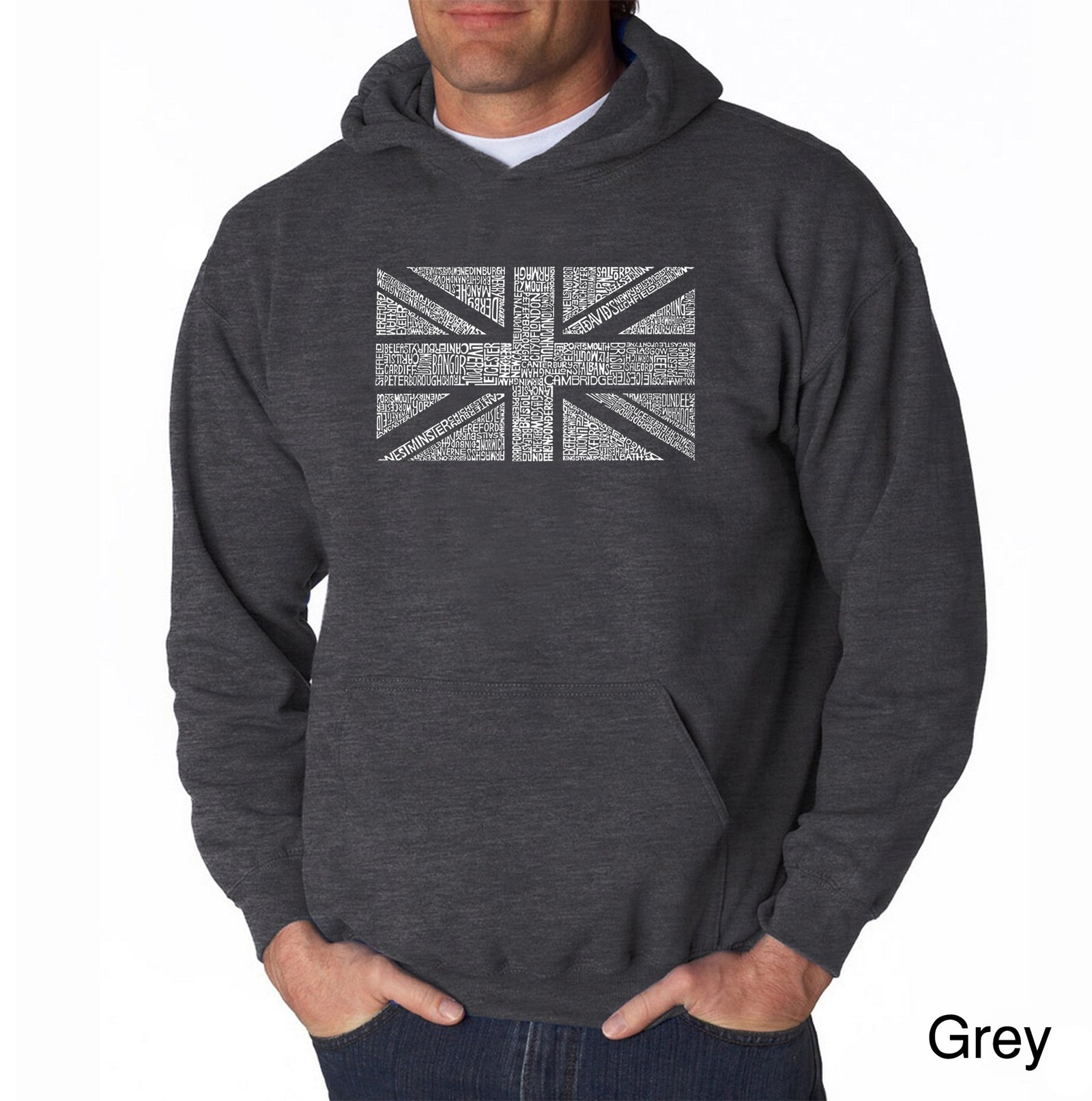 Men's Hooded Sweatshirt - UNION JACK