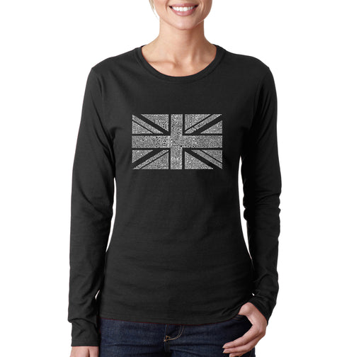 Women's Long Sleeve T-Shirt - UNION JACK