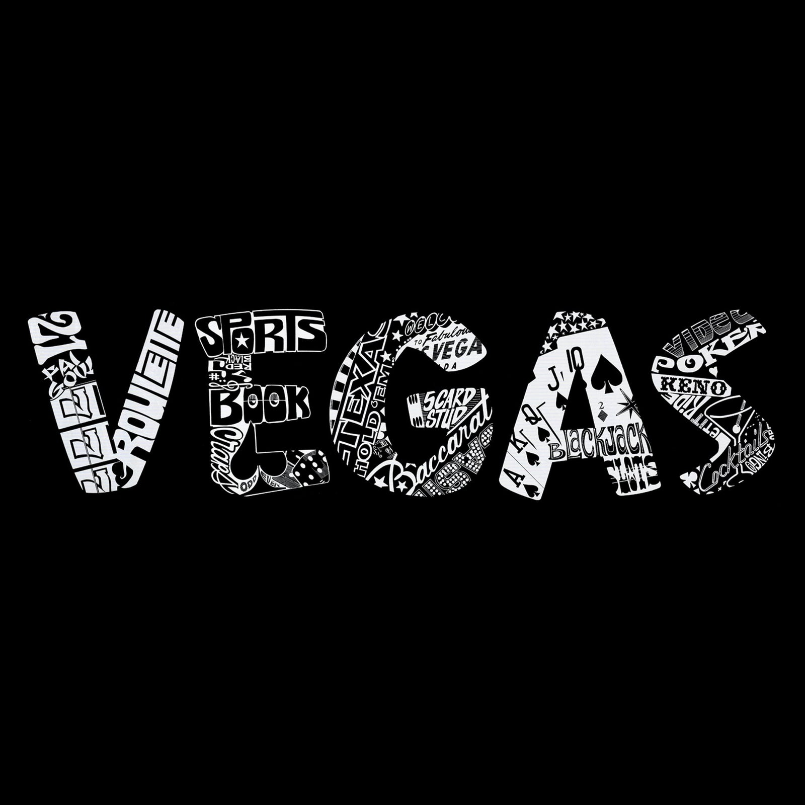 Large Tote Bag - VEGAS