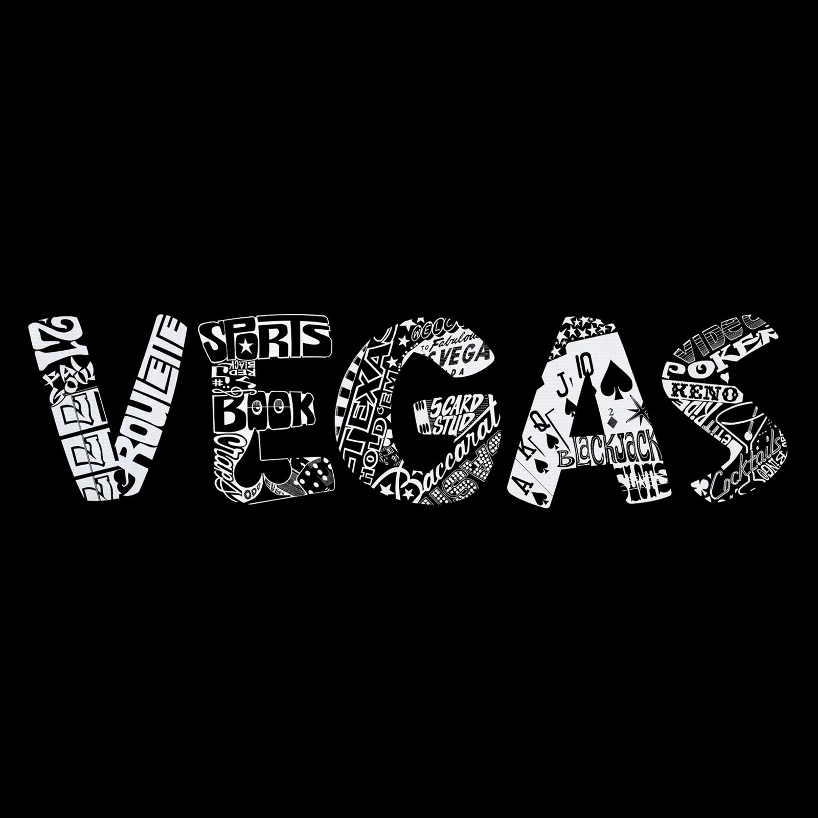 Throw Pillow Cover - VEGAS